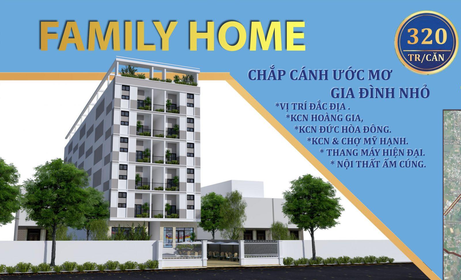 giá căn hộ family home