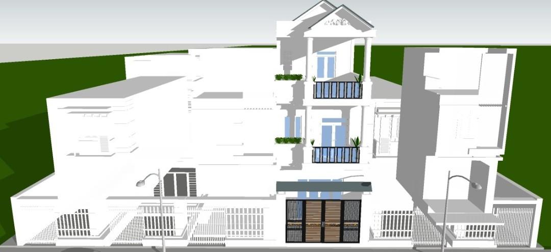 nhà đang xây vista land a1-36