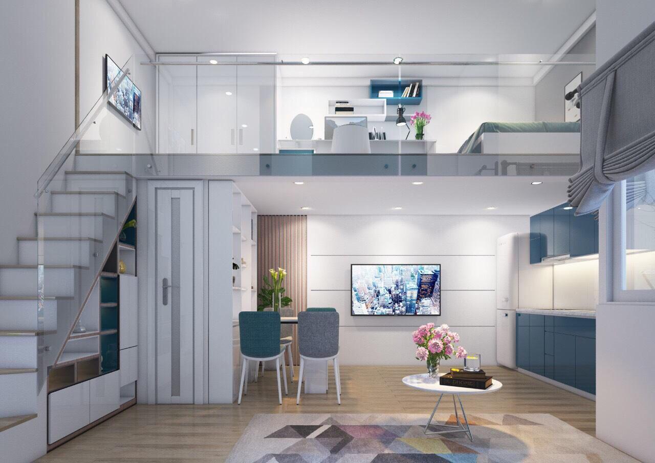 nhà mẫu căn hộ family home 4