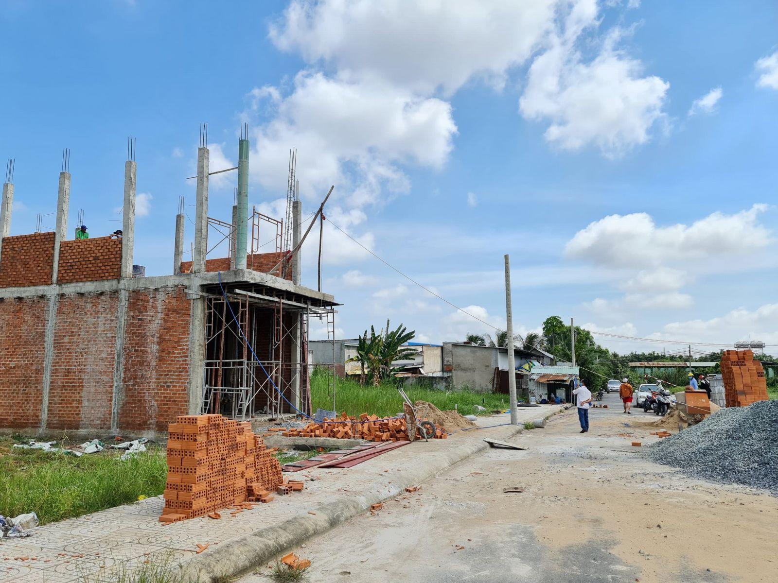 Công ty đang xây nhà phố - nhà phố an hạ
