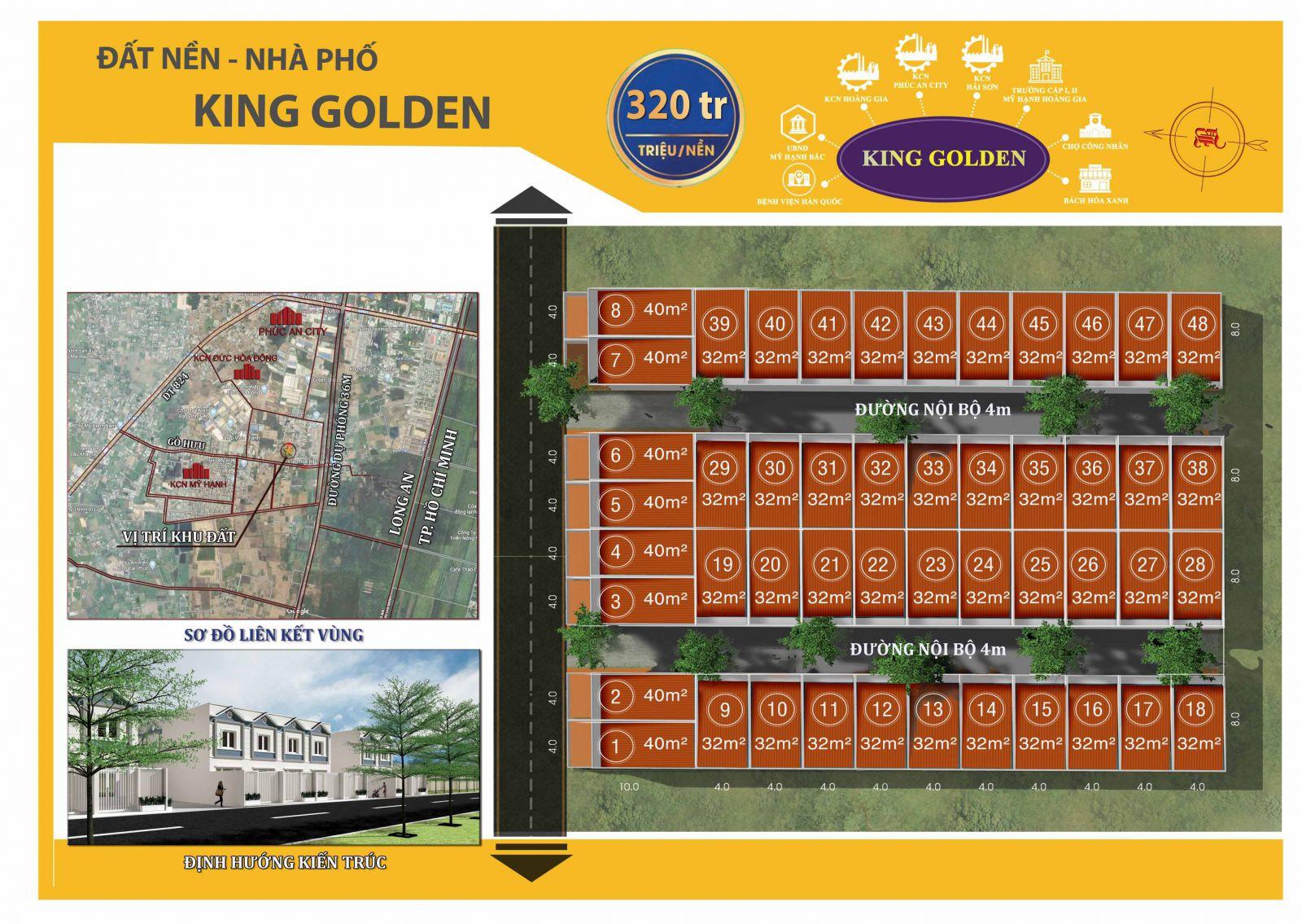 dự án King Golden Plus ngay sát bên