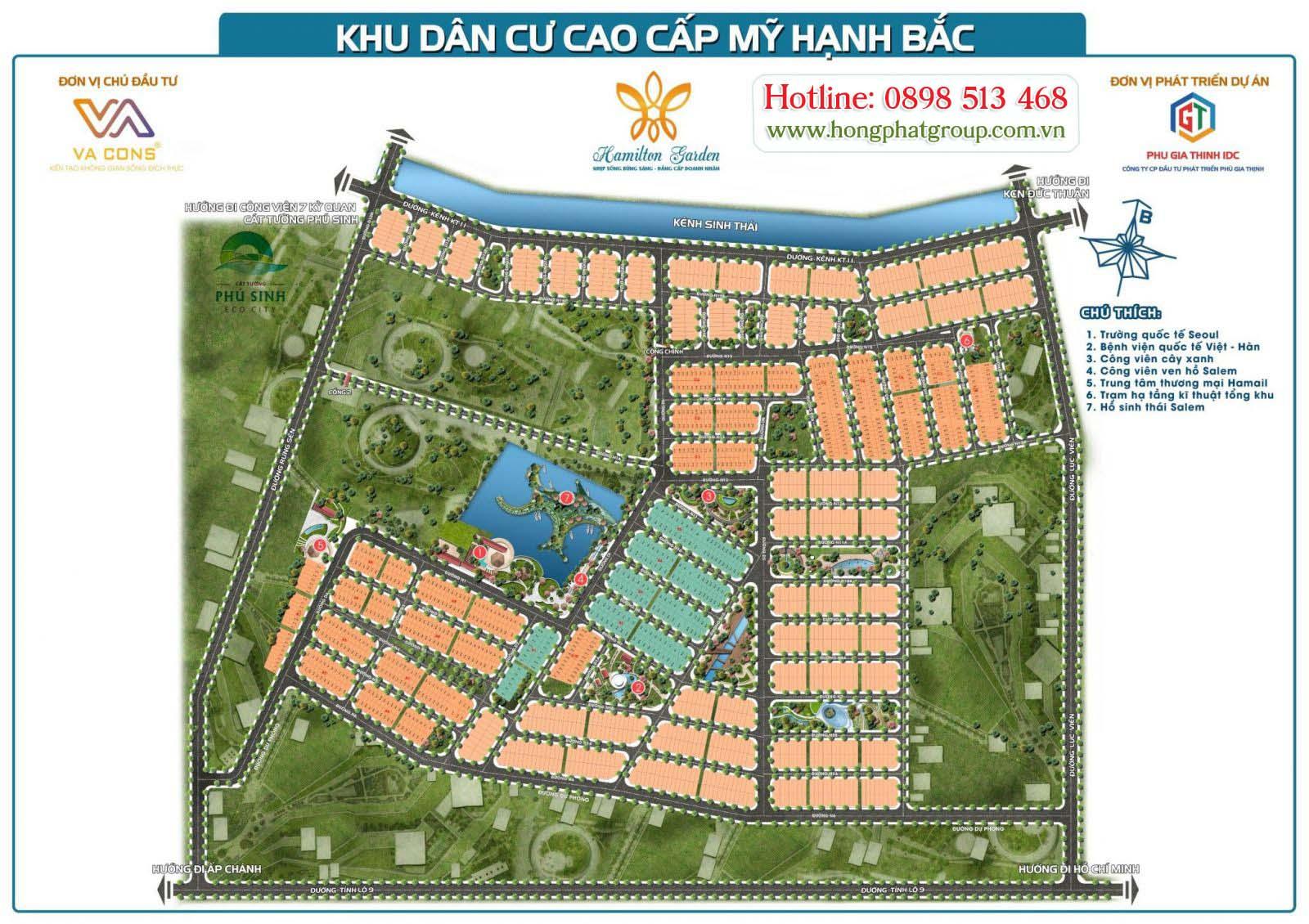 khu dan cu cao cap my hanh bac hamilton garden